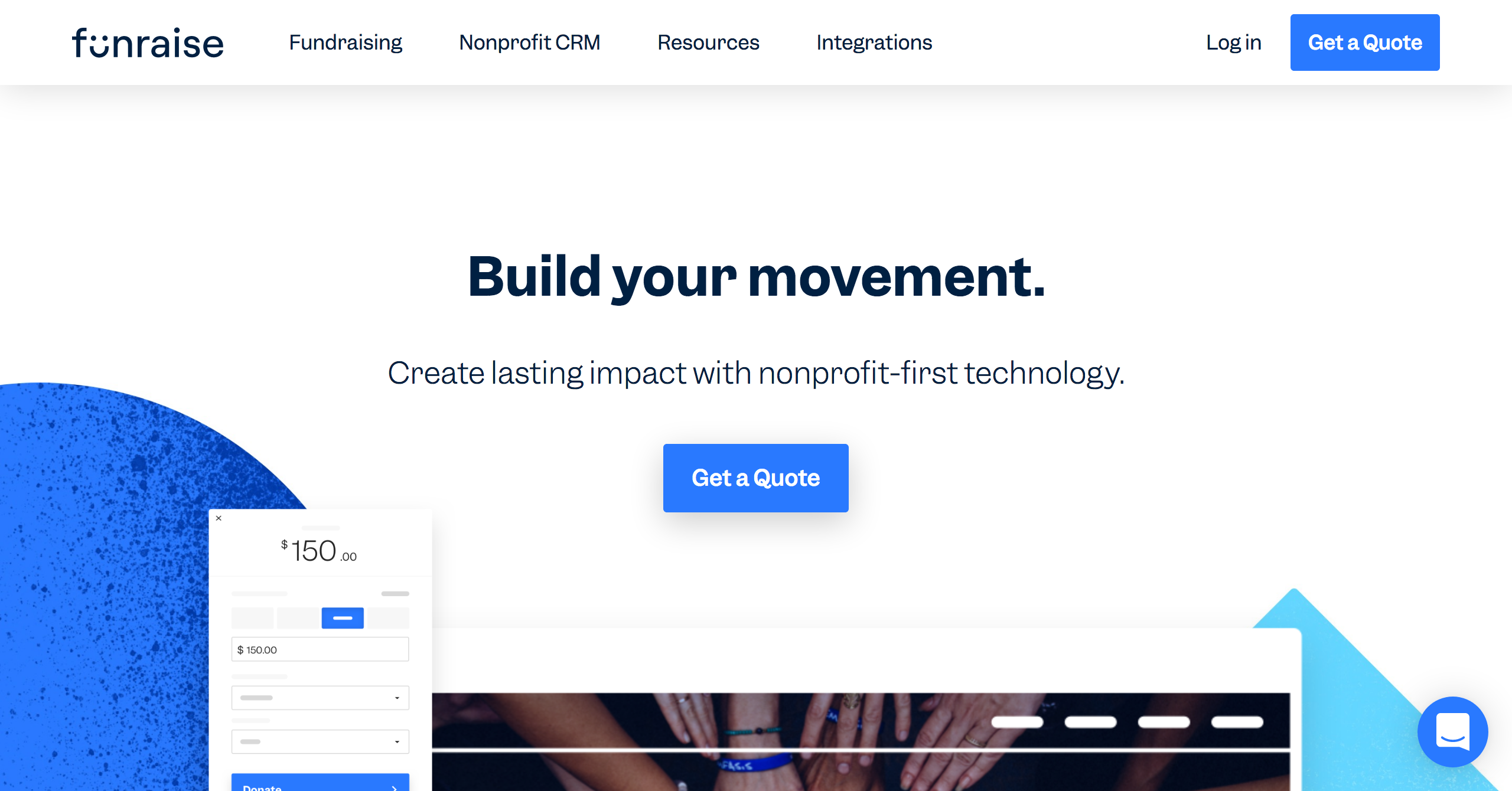 Screenshot_2020-02-18 The Best Nonprofit Fundraising Solution Funraise