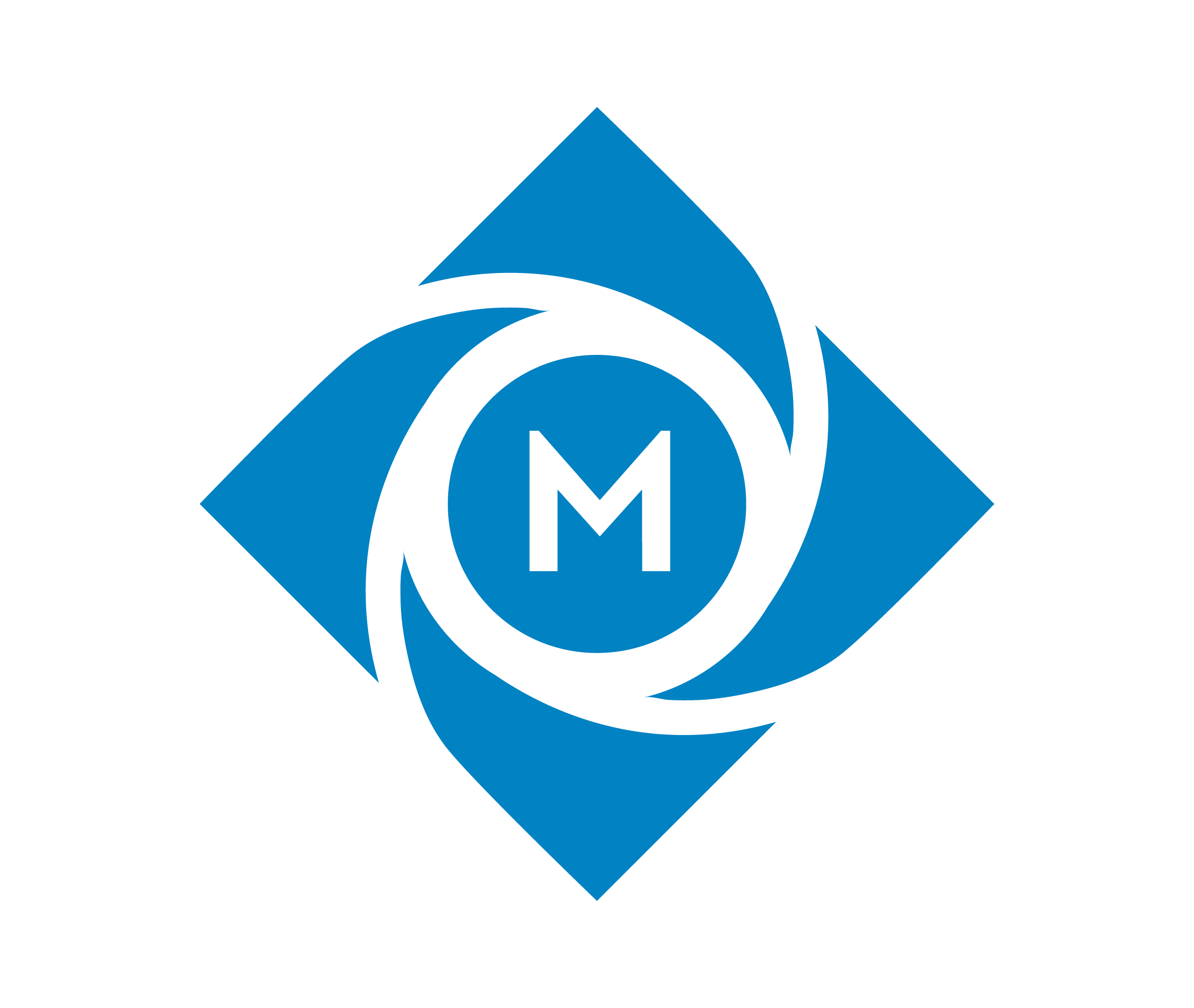 Muster Blue logo Mark